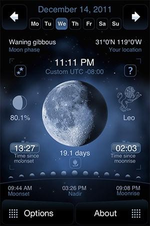 Deluxe Moon App