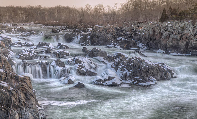 Photographing Great Falls Park (Virginia)