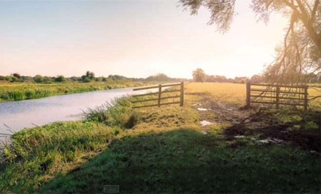 How to Enhance Light with Flare and Haze in Photoshop