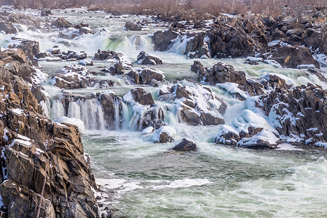 Great Falls National Park overlook #2
