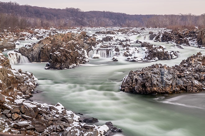 Great Falls National Park overlook #3