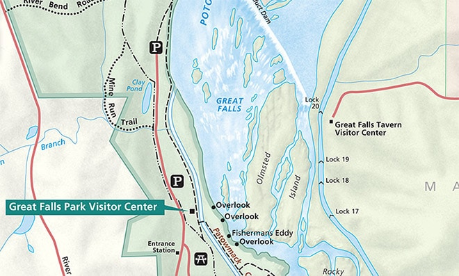 Great Falls National Park Map