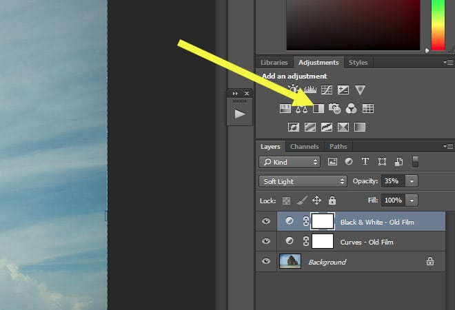 How to Create an Old Film Effect in Photoshop