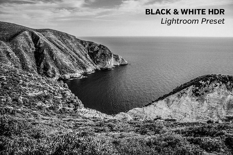 B&W HDR Lightroom Preset