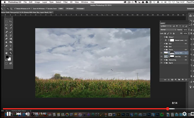 How to Quickly Fix and Replace a Bland Sky in Photoshop