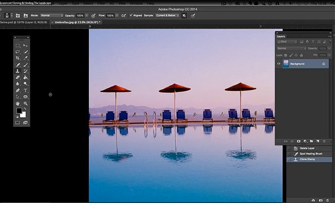 Remove Unwanted Objects in Photoshop with Cloning & Healing