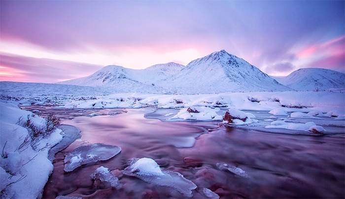 Winter Landscape Photography: Tips, Ideas, and Examples