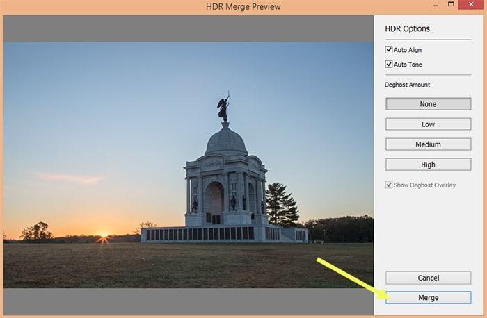 Step-by-Step: HDR Merge in Lightroom