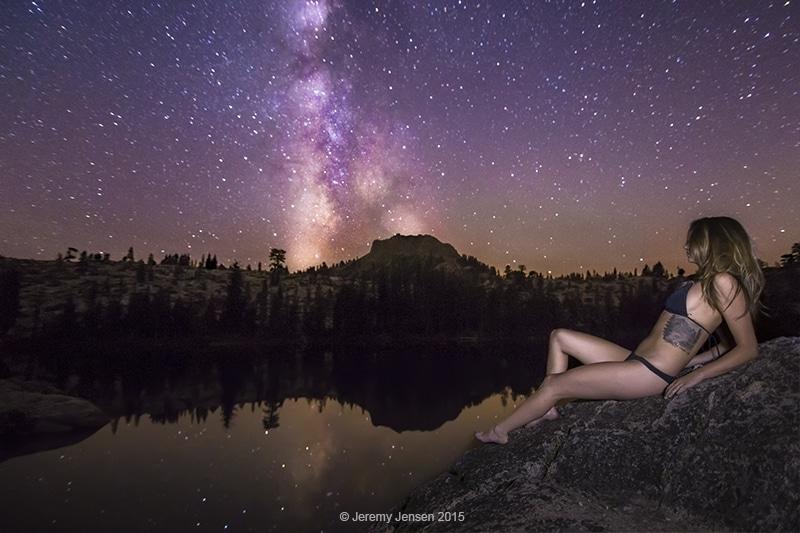 Long Lake Milky Way