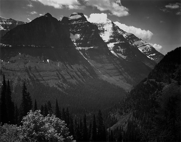 Ansel Adams: The Mural Project 1941-1942 In Glacier National Park Montana Ansel Adams