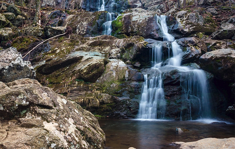 Dark Hollow Falls by Good Free Photos / Public Domain