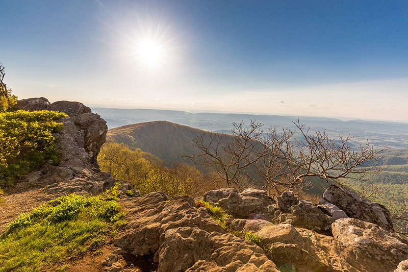 View from Hawksbill Mountain - photo by Marc Andre