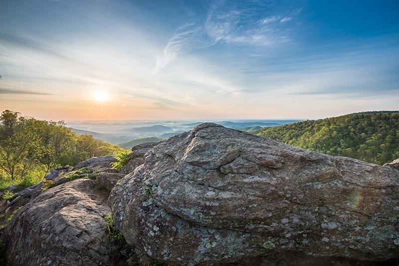 Hazel Mountain Overlook - by Marc Andre