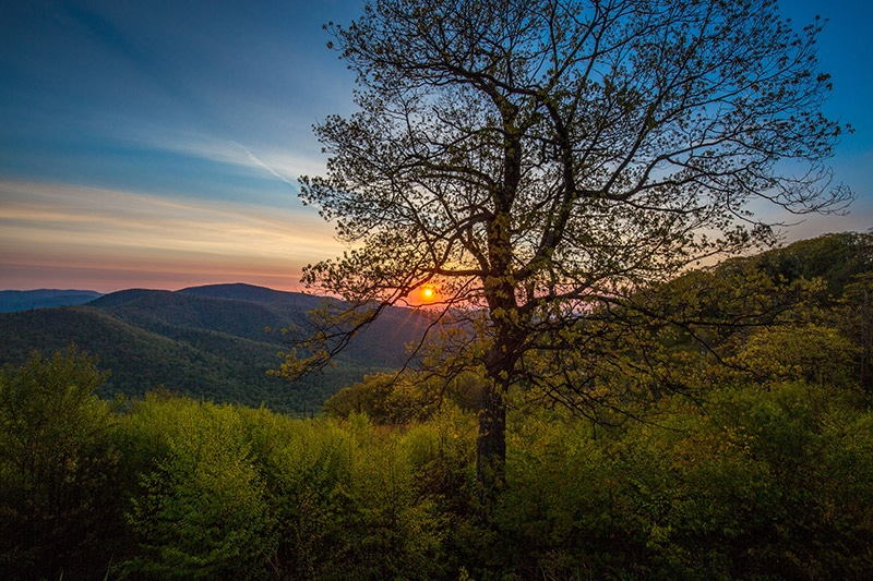 Hemlock Springs Overlook - photo by Marc Andre
