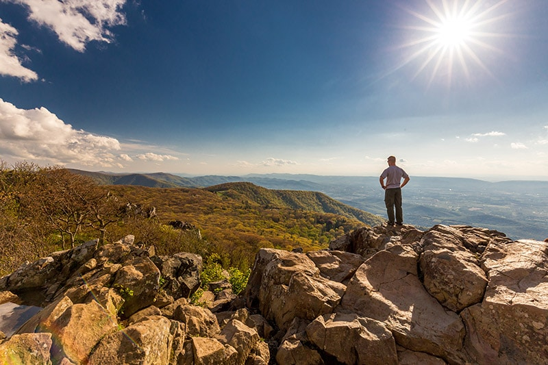 View from Stony Man Mountain - photo by Marc Andre