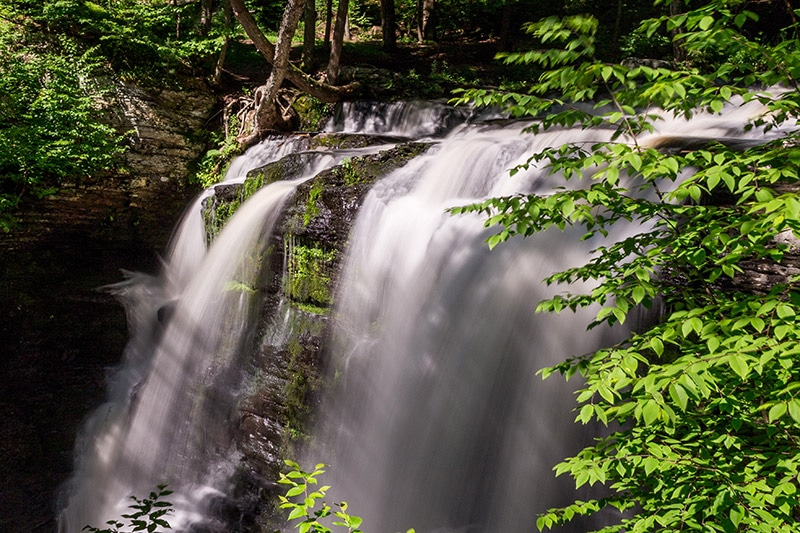 Photographing the Waterfalls of the Delaware Water Gap