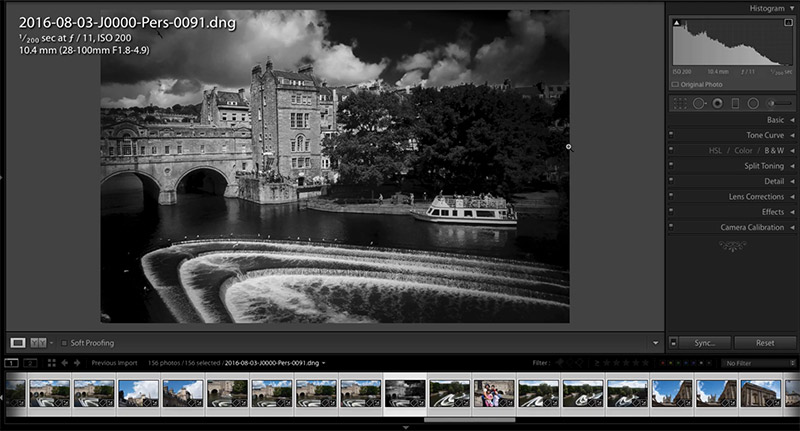 Black & White Conversions in Lightroom