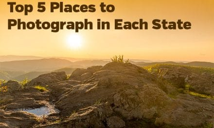 Top Five Places to Photograph in Each State (G – K)