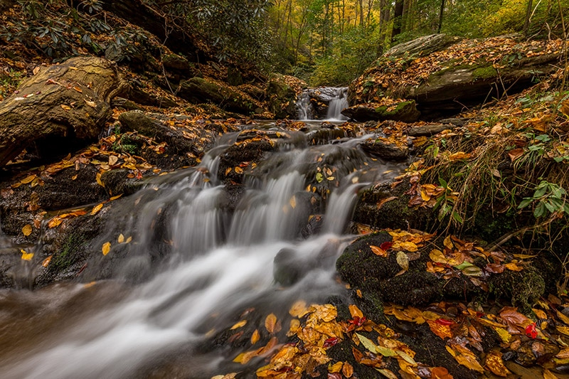 Photographing Mill Creek Falls (Pennsylvania)