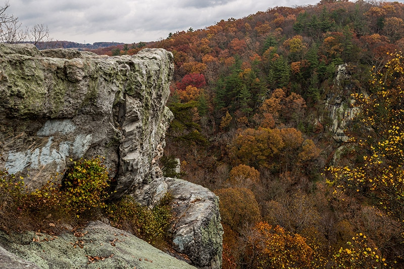 Autumn Trip to Kilgore Falls (Maryland)