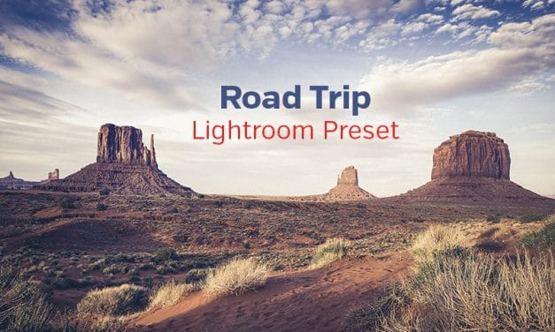 Free Lightroom Preset: Road Trip