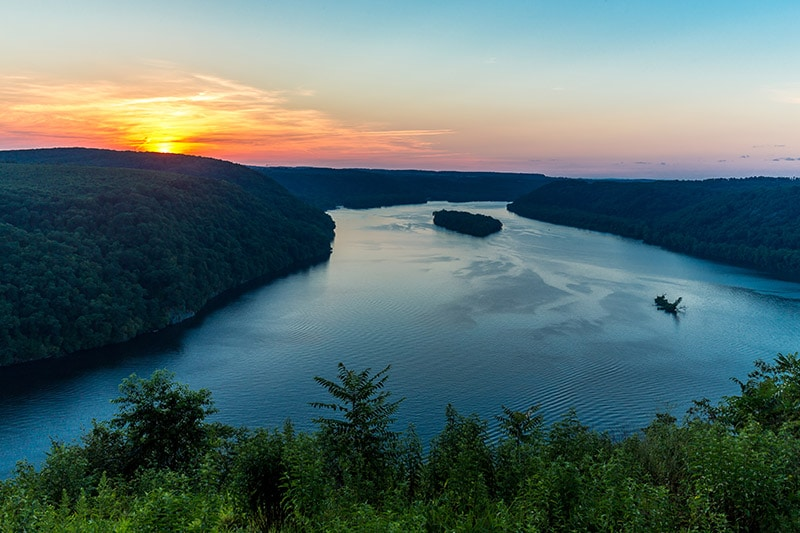 Pinnacle Overlook on the Susquehanna River (Pennsylvania)