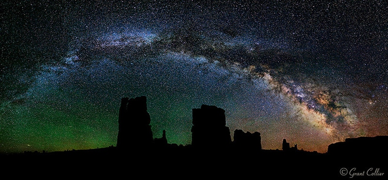 Stunning Night Landscape Photos by Grant Collier