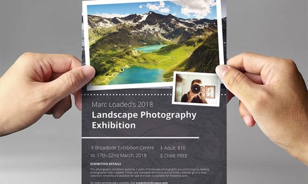 Free Exhibit Flyer Template