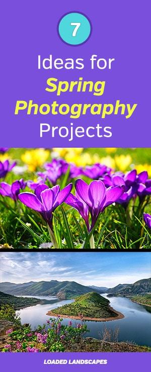 Spring Photography Ideas