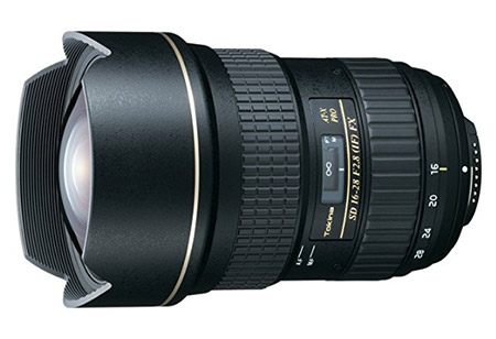Tokina AT-X 16-28mm f/2.8 Pro FX Lens