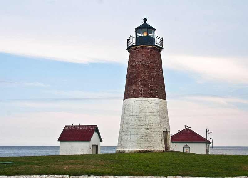 Point Judith Lighthouse in Rhode Island