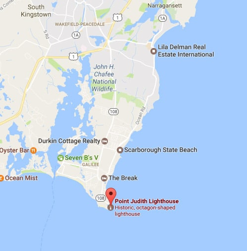 Point Judith Map