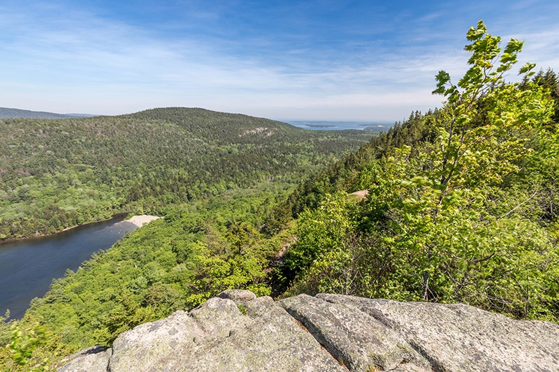 View from the Beech Mountain Trail