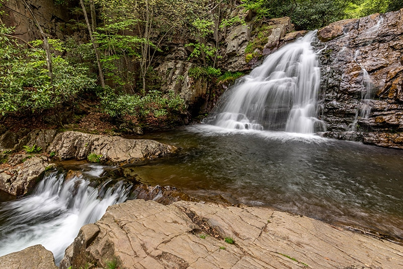Hawk Falls, Hickory Run State Park (Pennsylvania)