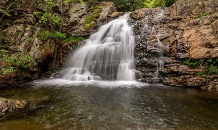 Photographing Hawk Falls, Hickory Run State Park (Pennsylvania)