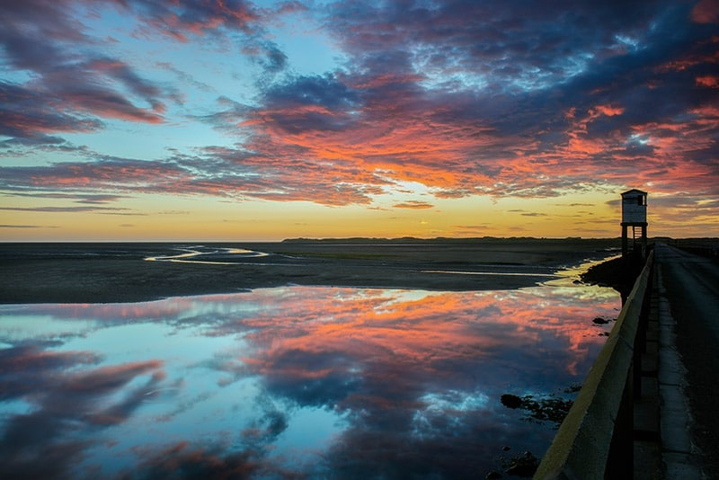 The Causeway, Lindisfarne , Northumberland - by Ruth Grindrod