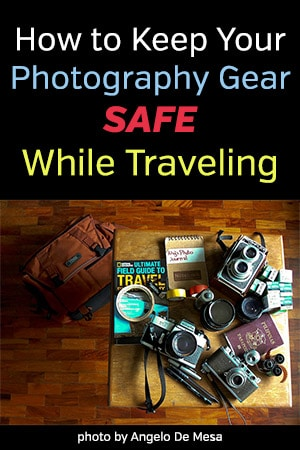 How to Keep Your Photography Gear Safe While Traveling