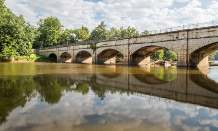 Photographing the Monocacy Aqueduct (Maryland)