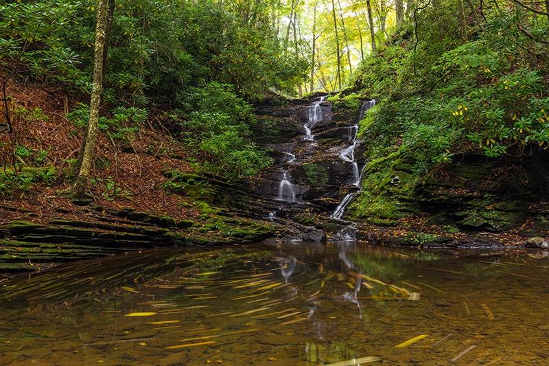 Slateford Creek Waterfalls, Delaware Water Gap