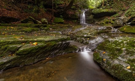Photographing the Waterfalls of Slateford Creek (Pennsylvania)
