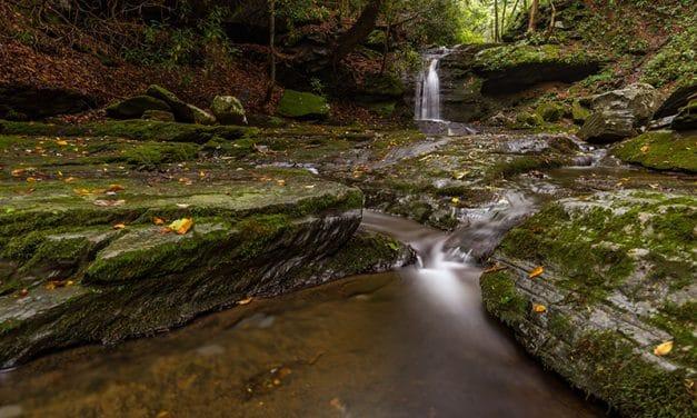 Photographing the Waterfalls of Slateford Creek (Pennsylvania)