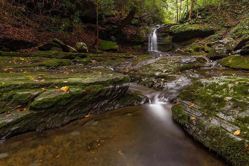 Slateford Creek Waterfall, Delaware Water Gap
