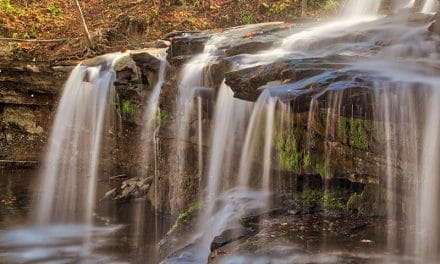 Photographing Brush Creek Falls (West Virginia)
