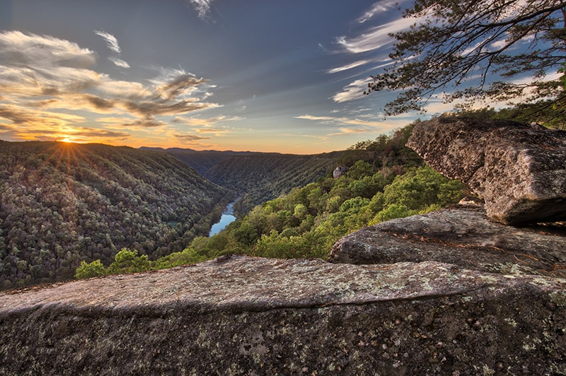 Beauty Mountain Sunset
