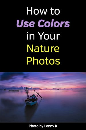 How to Use Colors in Your Nature Photos