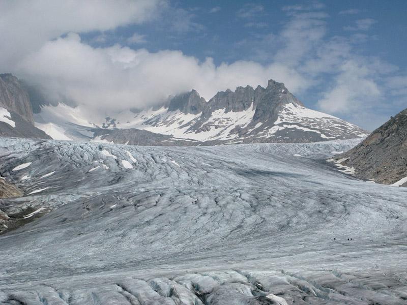 Rhone-Glacier