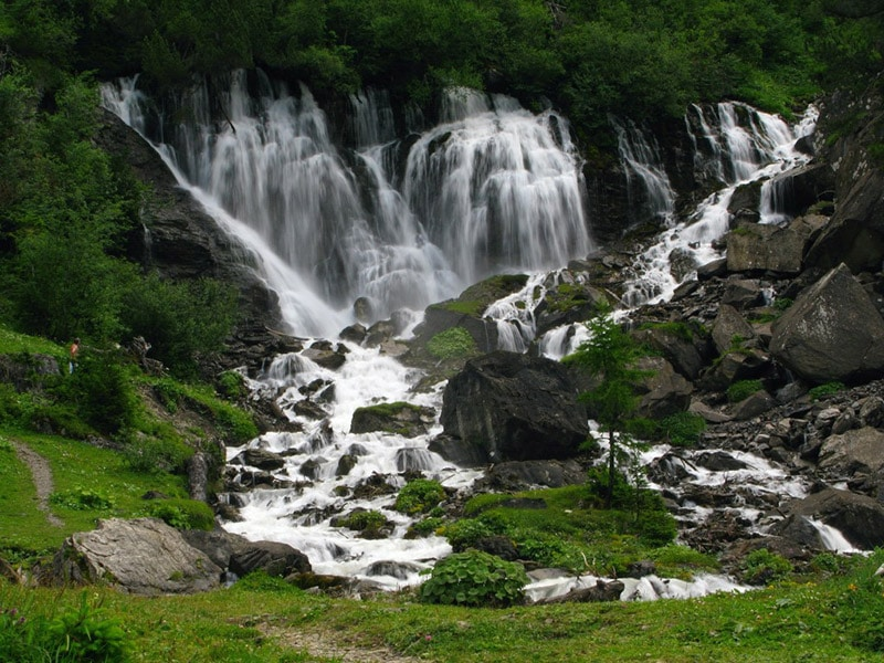 spring of river Simmen (Simmen-falls)