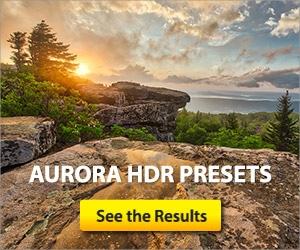 Aurora HDR Presets
