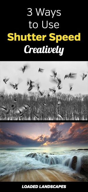 Ways to Use Shutter Speed Creatively