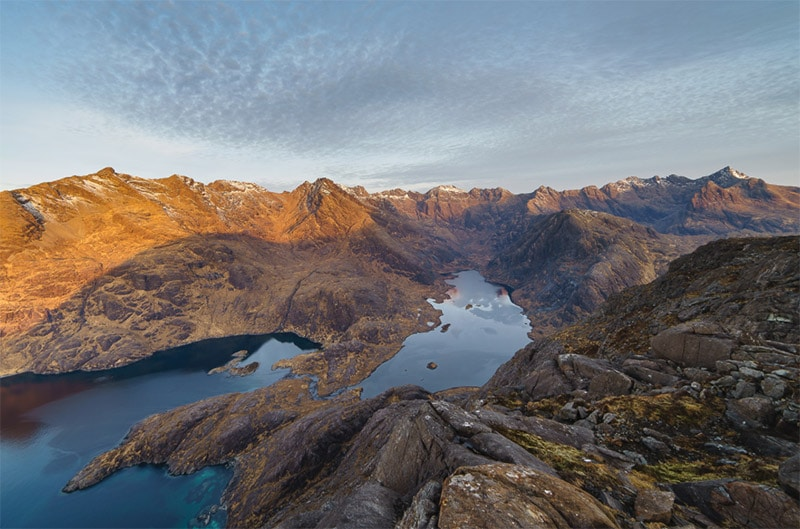 Loch Coruisk and the Cuillin Ridge